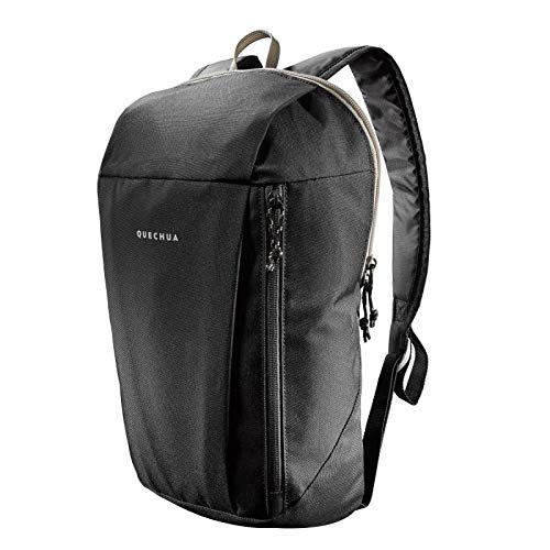 Best decathlon backpack in India 2020 QUECHUA Backpack Waterproof(Black, 10 LTR) Image 2