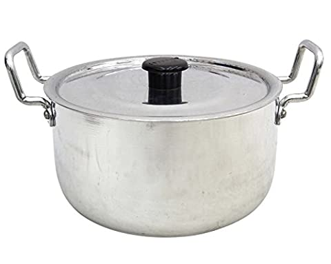 Aluminium Stock Pot With Lid Sauce Soup Stockpot Cookware Utensil Kitchenware 3.5 Litre