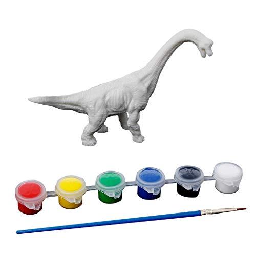 Senoow DIY Farbton Malerei Tier Dinosaurier Modell Zeichnung Graffiti Kinder Kinder Spielzeug (Big Spielzeug Dinosaurier)