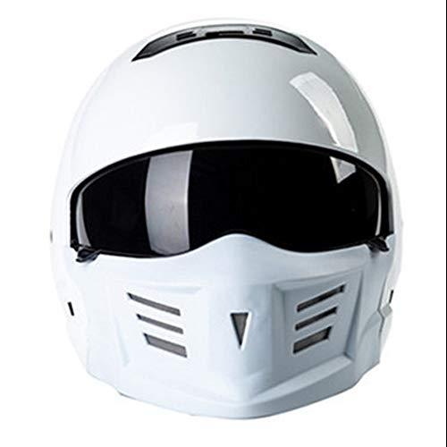 YAJAN-helmet Motorrad-Helm · Racing Abnehmbarer modularer Fullface Roller Scooter Motocross Fahrrad Helm · DOT-geprüfter