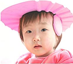 VALAMJI Baby Bath Shower Cap (Pink)
