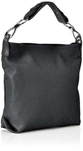 Bags4Less Damen Yenna Schultertasche, 7x32x30 cm Schwarz (Schwarz)