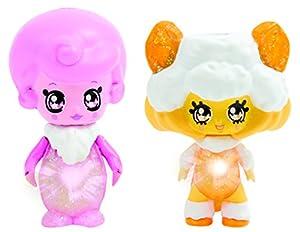 Giochi Preziosi Glimmies GLP012 Figura de Juguete para niños Rosa, Blanco, Amarillo Chica 2 Pieza(s) - Figuras de Juguete para niños (Rosa, Blanco, Amarillo, 3 año(s), Chica, China, LR41, 60 mm)