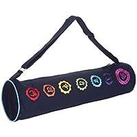 Kanyoga Blu canapa Meditazione Cuscino Cotone Mix Chakra Bag(69cm x 18cm), 1 Pezzo