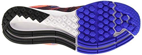 Nike Herren Air Zoom Elite 8 Laufschuhe, Talla Naranja / Negro / Azul (Total Crimson/Black-Sl-Rcr Bl)