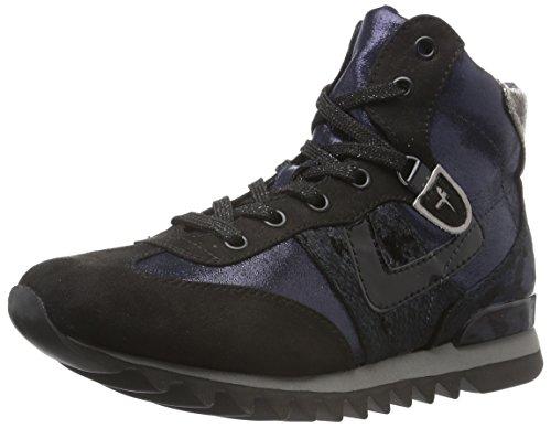 Tamaris 25216, Sneakers Hautes Femme Bleu (Navy Comb 890)