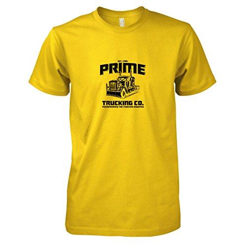 TEXLAB - Prime Trucking - Herren T-Shirt, Größe XXL, (Transformer Lkw Kostüm)