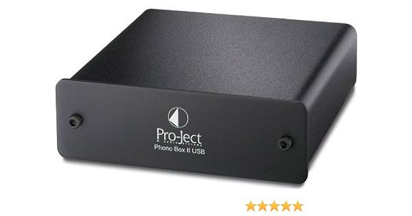 Pro Ject Phono Box Ii Mm Mc Phono Amplifier A D Converter Usb Schwarz Musical Instruments