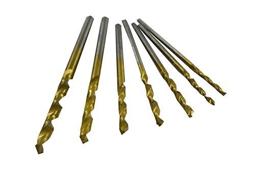 HSS-TIN Kernlochbohrerset Metallbohrer für Gewinde Kernlöcher M1-M2