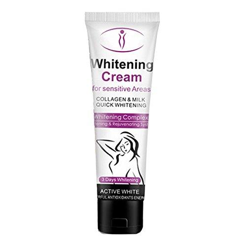 Natural Ingredients Whitening Cream, Allouli Private Skin Whitening Bleaching Cream Nipple Pinkish