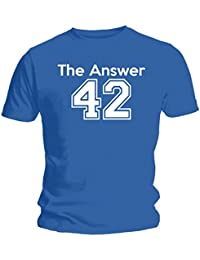 The Answer - Hitchhiker's Guide To The Galaxy Inspired Unisex T-Shirt - Blue