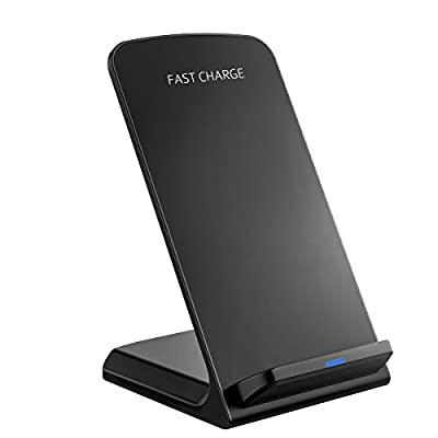 Fast Wireless Charger, PrimAcc Qi Charger Quick Wireless Charging Stand for Samsung Galaxy S7/S7 Edge, Galaxy S6/S6 Edge/Plus, All Qi-enabled Devices, QC 2.0 Wireless Charger Official for Samsung