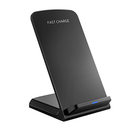 Fast Wireless Charger, PrimAcc Qi Charger Quick Wireless Charging Stand for Samsung Galaxy S7/S7 Edge, S6/S6 Edge/Plus, All Qi-enabled Devices, QC 2.0 Wireless Charger Official for Samsung Test