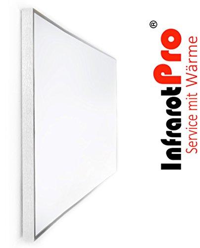 Infrarotheizung mit Digitalthermostat 600W von InfrarotPro 7 JAHRE GARANTIE Made in Germany Infrarot-Heizung 600 Watt mit Thermostat (600-W + P101)