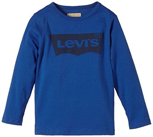 Levi's Batlong - Camiseta de manga larga con cuello redondo para niño Levi's