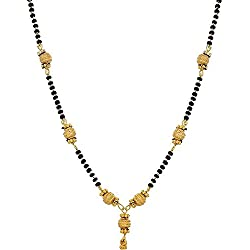 YouBella Jewellery Gold Plated Mangalsutra Necklace For Girls And Women
