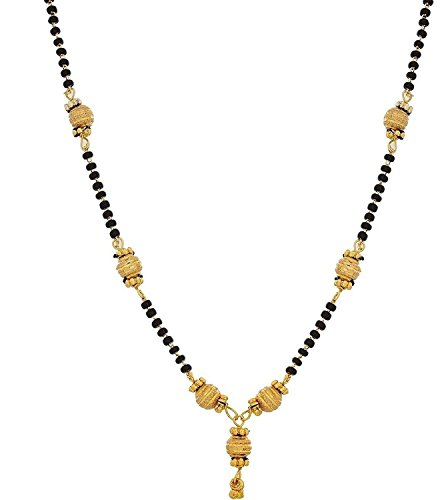 Youbella Gold Plated Mangalsutra Necklace For Women