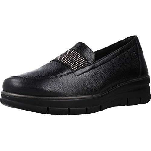 Zapatos de Cordones para Mujer, Color Negro (Negro), Marca 24 HORAS, Modelo Zapatos De Cordones para Mujer 24 HORAS 24290 Negro