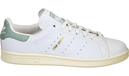 adidas Stan Smith-s80, Gymnastique Homme Blanc Cassé - Bianco (Ftwwht/Ftwwht/Green)
