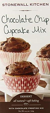 Stonewall Kitchen Chocolate Chip Cupcake Mix, 22.5 Ounce Box