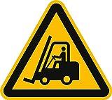 Schild Warnung vor Flurförderzeugen 40cm sl