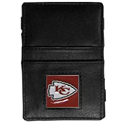 NFL Kansas City Chiefs Leather Jacob's Ladder Wallet