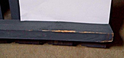 Mülltonnenbox schwarz 1 Tonne FSC Holz Verkleidung Mülltonnenverkleidung B-WARE - 6