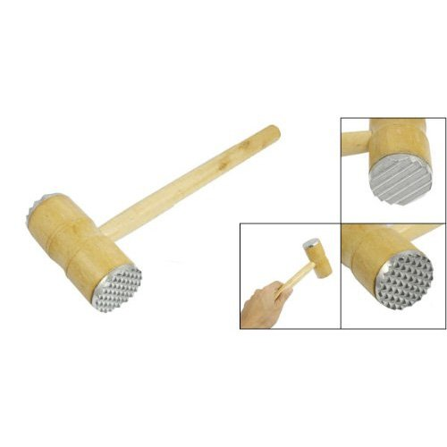TOOGOO(R) Dual-Kueche Pyramidenfoermige Koepfe Klopfer Fleischhammer-Tool