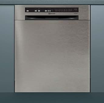 bauknecht gsu 102303 a3 tr pt encastrable de lave vaisselle a 13 ma gedecke 44 db acier. Black Bedroom Furniture Sets. Home Design Ideas