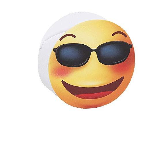 Dolgetta Konfektdose zylinderförmig Emoji mit Brille