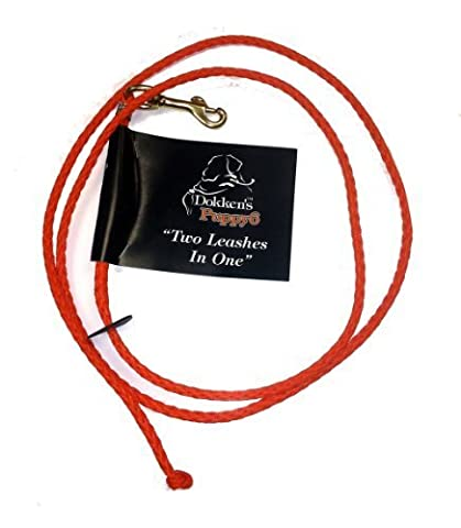 Puppy 6 | 2 leashes In One Check Cord | PLX100 | Hunting Dog Training | Dokken NEW by Dokken's