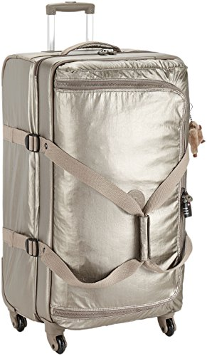 Kipling - CYRAH L - 101 Litri - Trolley - Metallic Pewter - (Dorato)