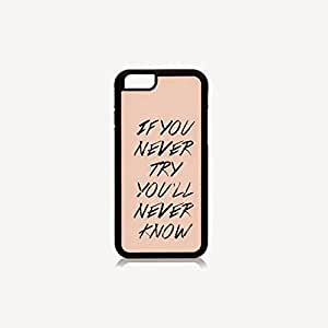 Krazycases Never Know Back Shell Cover For iphone 6 plus (+) 5.5 inch