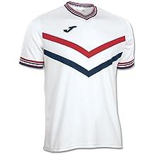 Joma - Camiseta terra blanco-rojo m/c para hombre