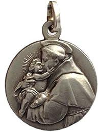 b578c3b4c612 San Antonio de Padua Medalla de Plata Maciza 925 - Las medallas de los  Patronos …