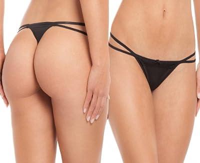 8er-Pack Damen Strings Tangas Slips Bodywear in verschiedenen Designs und Farben