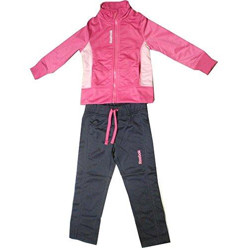 Reebok 641 Jogging Set pour Enfants Unisexe Rose/noir