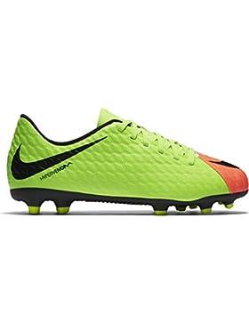 Nike Hypervenom Phade Iii Fg, Botas de Fútbol Unisex Niños
