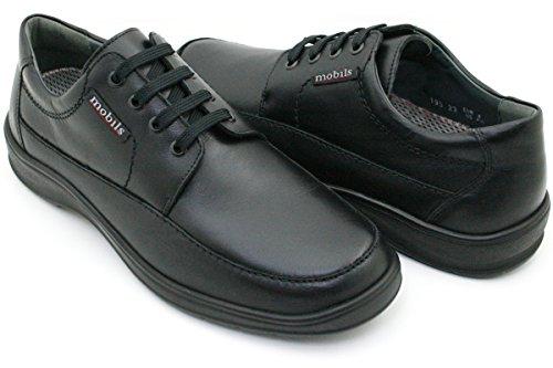 MOBILS - Ezard - Chaussures De Ville/Derbies - Homme - Semelle Amovible : Oui - Noir - Taille 6.5 UK
