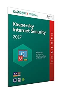 Kaspersky Internet Security 2017 | 1 Gerät | 1 Jahr | PC/Mac/Android | Download