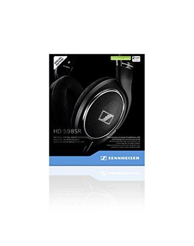 Sennheiser HD 598SR Cuffia Over-Ear con Smart Remote, Nero