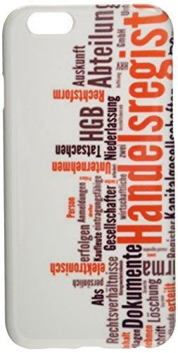Handelsregister (Unternehmen, Firma, Inhaber) Handy Cover Case Hülle iPhone6