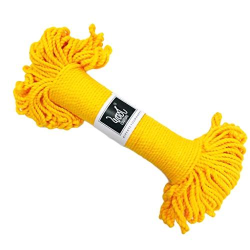 3mm x 60m Wool Couture Natural Cream 3 mm Corda macram/è