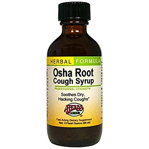 Herbs Etc - Osha Root Complex Syrup Professional Strength - 2 oz. CLEARANCE PRICED by Herbs Etc.
