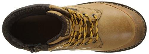 Geox Jungen Jr Axel Boy A Boots Beige (DK YELLOW/COFFEEC2266)