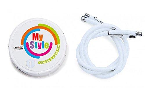 Casco MyStyle Helmstreifen, weiß, S