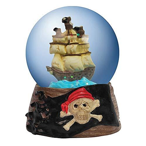 Unbekannt Westland Giftware Miniatur-Figur, Motiv Piratenschiff, 45 mm (Jake Die Piraten Nimmerland Kuchen Und)