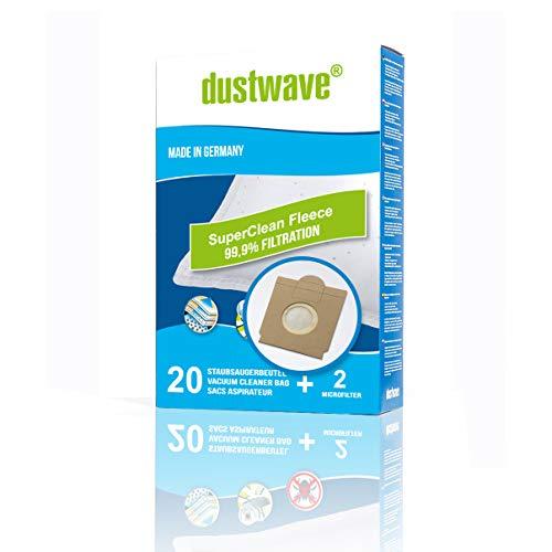 40 Staubsaugerbeutel + 4 Filter geeignet für Adix (Aldi) - SI 170 von dustwave® Qualitätsprodukt Made in Germany