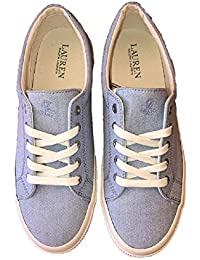 2fc37da61a5 Ralph Lauren Jolie - NE Trainers LACE-UP Women s Tennis Shoes Blue UK 8 EU