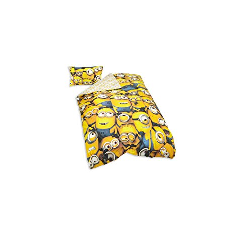 Image of Despicable Me Minions Duvet Cover & Pillow Case Set
